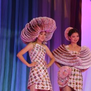Kyrgyz fashion designers present their models at USAID-supported Fashion Industry 2015 show