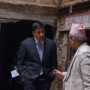The Earthquake Vulnerability Tour highlighted the assistance provided through USAID to communities to reduce their earthquake vu