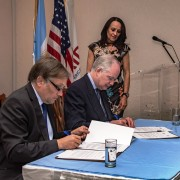 USAID signs an agreement with Argentine emerging donor