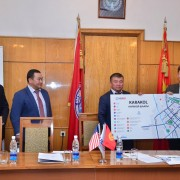 Official handover ceremony of the tourist signage