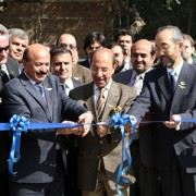 Mayor of Kabul Mohammad Yunos Nawandish, Minister of Information and Culture Sayed Makhdoom Rahin and USAID Mission Director Dr.