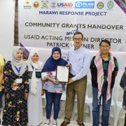 U.S. Government Awards Grants to Marawi's Displaced Communities