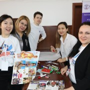 Participants of the Media Eduthon 2020 in Almaty, Kazakhstan