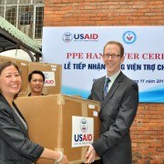 Donation of Personal Protection Equipment Protects Frontline Animal Health Workers.