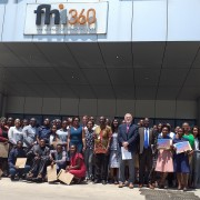 The first cohort of 44 Youth Leaders graduated from the 6-month program on Monday, October 28, 2019. The Director of Planning and Information, Mr. Nelson Nyangu, spoke as the guest of honor on behalf of the Minister of Youth, Sport, and Child Development, Emmanuel Mulenga.