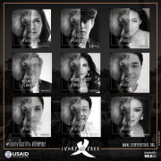 "Over 100 celebrities and 15,000 Thai citizens take part in the 'I am Ivory Free"" Campaign to curb demand for ivory, supported by USAID and partner, WildAid."