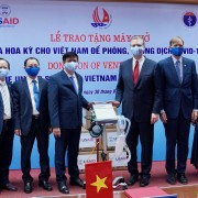 The United States Provides Ventilators to Vietnam to Respond to COVID-19