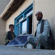 More than 100 families in Logar Province will have clean, affordable energy this winter thanks to solar panels provided by USAID