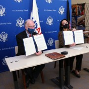 USAID and the Afghanistan Ministry of Public Health Sign Partnership Statement to Prevent and Reduce Tuberculosis over Next Five Years, Advance Afghanistan's Healthcare Services