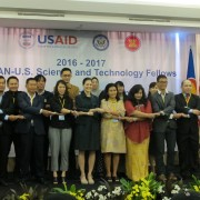Ambassador Nina Hachigan and the 2016-17 ASEAN-U.S. Science and Technology Fellows