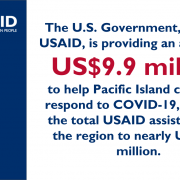 U.S. Government Provides Additional $9.9 Million to Support COVID-19 Efforts in the Pacific Islands Region
