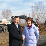 U. S. Government Hands Over Heavy Machinery to Water Users Associations and Inaugurates New Office in Southern Tajikistan