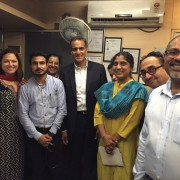 U.S. Ambassador to India Richard Verma Visits a Multi-Specialty Hospital in Dharavi Treating HIV and Tuberculosis