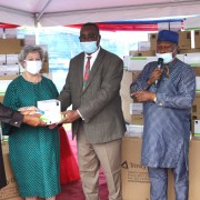 Belemaoil donates Rapid Test Kits to USAID to support HIV and AIDS eradication efforts in Uyo, Akwa Ibom State