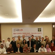 Representatives of 16 Indonesian government agencies attended intense consultations on July 25, 2016, to ensure CEGAH is aligned