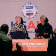 U.S. Agency for International Development Administrator Gayle Smith hosted Shared Progress, USAID's signature event for the 71st