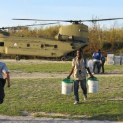 USAID and SOUTHCOM delivered food & supplies to Jérémie, Haiti