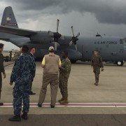 The U.S. military stood up a Joint Task Force from U.S. Southern Command to support USAID's disaster relief efforts