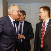 USAID Administrator Mark Green's Meeting With European Commissioner for International Cooperation and Development Neven Mimica