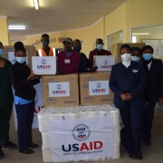 U.S. Government Donates Personal Protective Equipment for Namibia's COVID-19 Health Care Workers