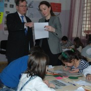 Thomas Melia visits USAID-supported educational program in Georgia