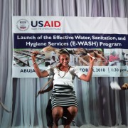 USAID will provide 500,000 families in six states access to a reliable supply of clean, piped water