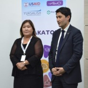 At the end of the Web Academy Hackathon that was held for the first time in Uzbekistan