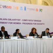 """Empowerment for Women - Progress for Society!"" conference brought together key stakeholders to discuss gender-based violence an"