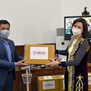 USAID provides medical equipment