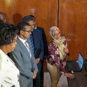 Image of USAID Ethiopia launch of electronic regulation information system.