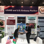 U.S. Companies Participate in Agriculture Exhibition in Baku