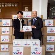 U.S. Provides Personal Protective Equipment to the  Royal Thai Government to assist COVID-19 Response