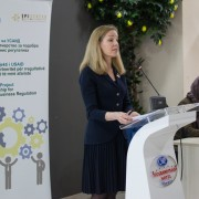 Gretchen Birkle, Acting Country Representative for USAID Macedonia