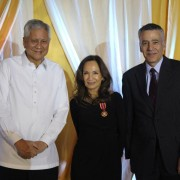 USAID Mission Director Gloria D. Steele Conferred Order of Sikatuna