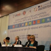 Ambassador Kelly Gives Opening Remarks at National Disability Rights Day Forum