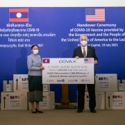 United States Donates More than One Million COVID-19 Vaccines to Lao PDR Through the COVAX Facility