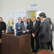 Opening of Renovated Higher-, Basic-, and Misdemeanor Courts in Pirot