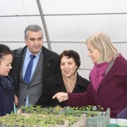 U.S. Government Opens a Commercial Greenhouse to Support Improved Agriculture and Nutrition