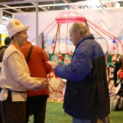 More than 5,000 people attended the Kyrgyz booth