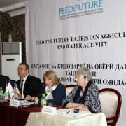 The U.S. Government launches new food security activity in Tajikistan
