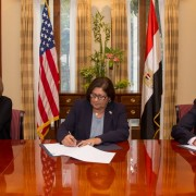 U.S. Ambassador Beecroft and USAID Mission Director Sherry F. Carlin announced providing $50,000 to the Egyptian Red Crescent to help the people affected by recent flooding in Egypt.
