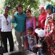 U. S. Government Delivers Water to Homes in Vahdat District