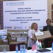 U.S. Government Donates Medical Supplies to Maternity Hospitals in Khatlon Province