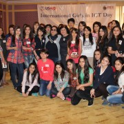 Azerbaijani Women Celebrate ICT for Girls