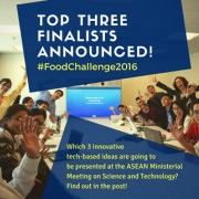 USAID and YSEALI Announce Top Three Youth Teams in Food Innovation Challenge 2016