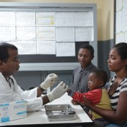 With quick treatment, the risks of serious illness from malaria decline sharply