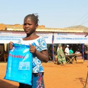 Mali is ranked number one out of 27 PMI countries in terms of bed net use