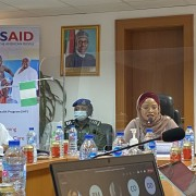 Minister of State for Nigeria's Federal Capital Territory  Hajia Ramatu Tijani Aliyu thanks USAID for supporting improvements in health service delivery for the Territory's three million residents