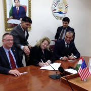The U.S. Government continues its support to the energy sector of Tajikistan