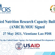 U.S. Funded Project Supports Ministry of Health to Improve Nutrition Research in Laos